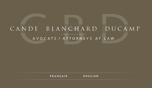 Candé Blanchard Ducamp Avocats